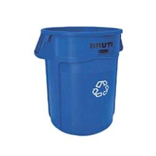 【ブルートユーティリティ・リサイクルコンテナー 2643-07 ブルー 166L】 高さ800(mm)/業務用/グループA