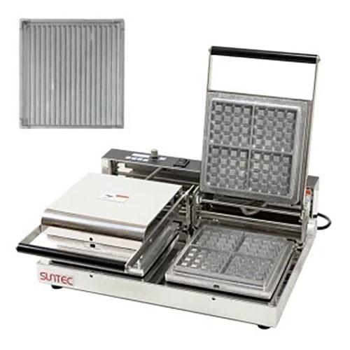 マルチベーカー MAX-2 パニーニグリル MAX-2-SPC0101 幅540×奥行455×高さ195(mm)/業務用/新品/送料無料