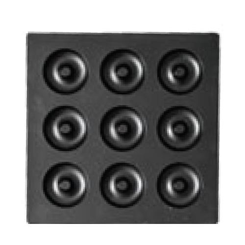 マルチベーカー MAX用プレート プチベイクドドーナツ(上・下)セット PCA0901 /業務用/新品/送料無料