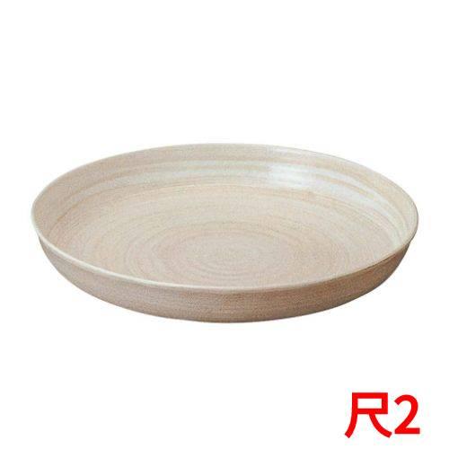 【アルミ 電磁用 深型ドラ鉢(白刷毛目)尺2】 高さ96(mm)/業務用/グループA