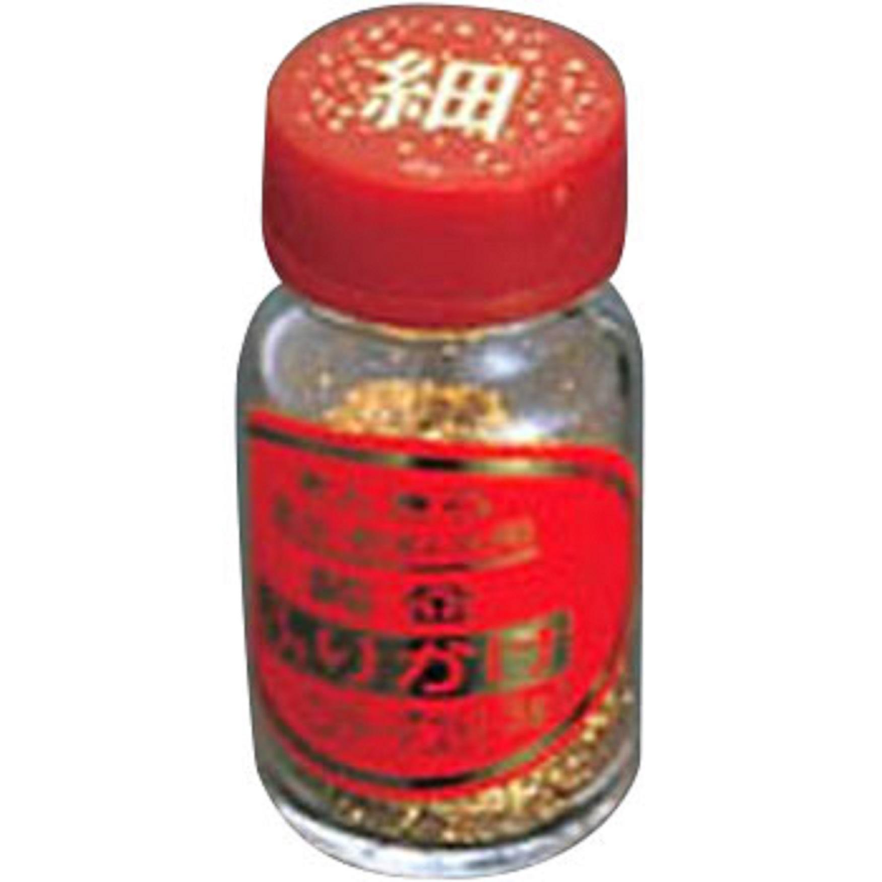 きんきらふりかけ(純金箔)スターダスト細目 大瓶(3g)【業務用食器】