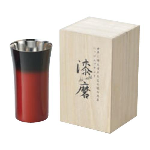 漆磨 シングルカップS 240ml 赤彩 SCS-S602 高さ115(mm)/業務用/新品