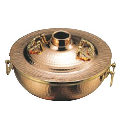 銅鍋【EBM 銅 DX ホーコー鍋 ガス用 18cm】 EBM【業務用】【グループA】