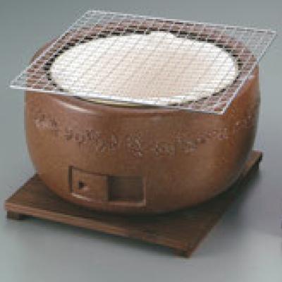 コンロ 【三河コンロ 大型(茶)C-1】 C-1/【業務用】【グループA】