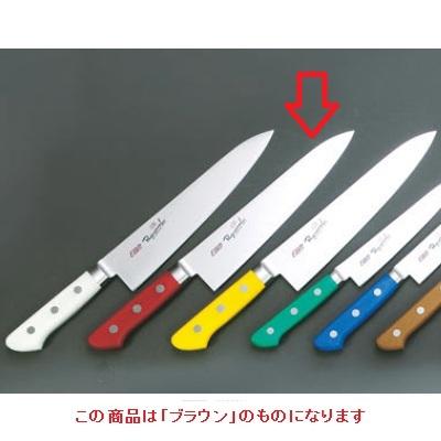 牛刀 【EBM 抗菌 スペシャル・イノックス 牛刀 18cm ブラウン】 EBM 長さ:304、厚さ:2 【業務用】【グループA】