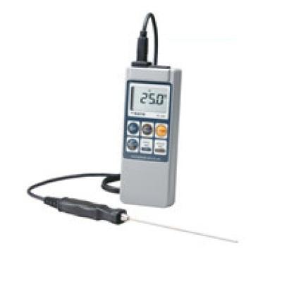 温度計 【SATO 防水型デジタル温度計 SK-1260 標準センサー付】 SK-1260 本体部/66×25×H175、センサー部/φ2.3mm 【業務用】【送料無料】