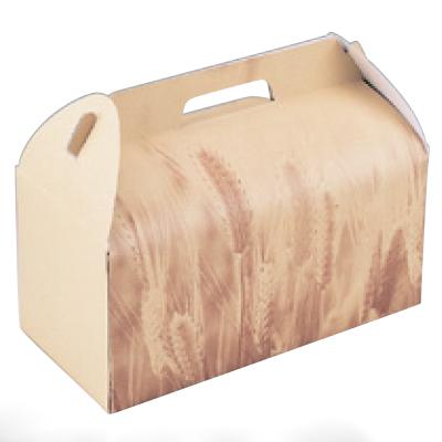 使い捨て ケーキボックス 柄入ギフトボックス GB-1-M 幅130 奥行190 高さ135/業務用/新品