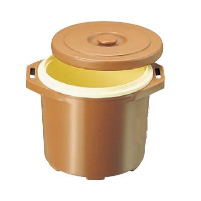 保温食缶 DFーR1 大 ごはん用 D/B プラスチック 【業務用】【送料無料】