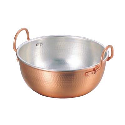さわり鍋 42cm 銅製 【業務用】【送料無料】