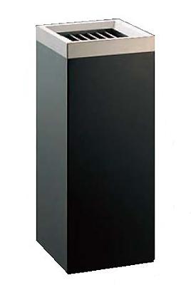 スモーキングスタンドMKBー250S 角型 ブラック EBM 【業務用】【送料無料】