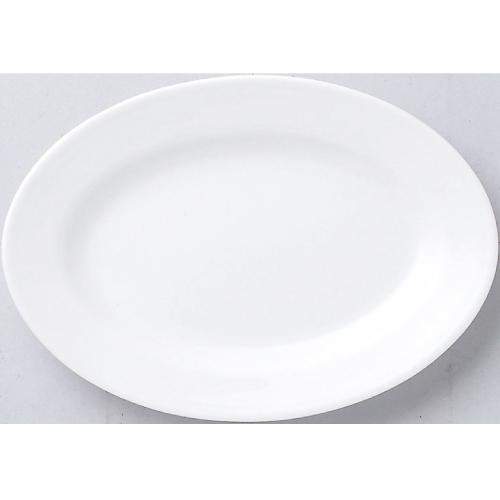 【白中華 リム玉9吋プラター 10枚入】【業務用食器】 【グループB】
