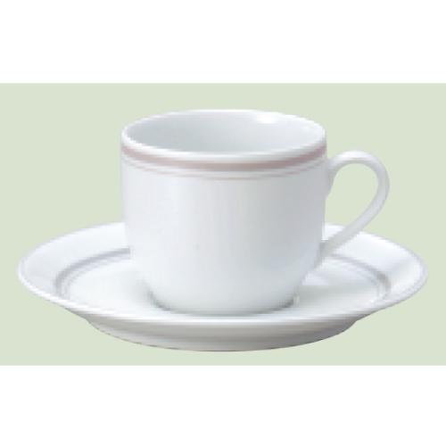 【ダイヤセラム(強化)】【パーチメント コーヒー碗皿】【カップ&ソーサー】【Dia Ceram Perchment】 【10個入】【業務用】【グループB】