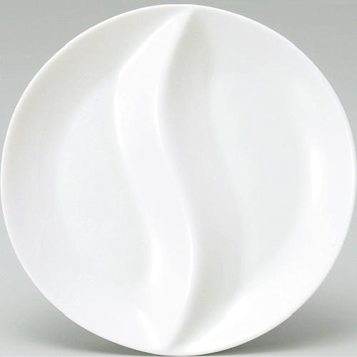 丸仕切皿23cm6-70-2 洋食器 待望 業務用 テンポス 新品 予約