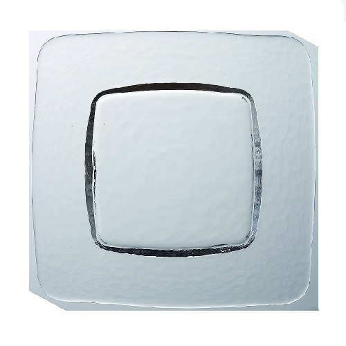 ガラスプレート 【フリー スクウェアプレート L】 4入【業務用】【グループB】