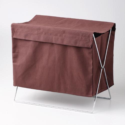 【折りたたみ式バッグ&ウェアケース ふた付】ケース 幅450mm×高さ385mm【業務用】【送料別】