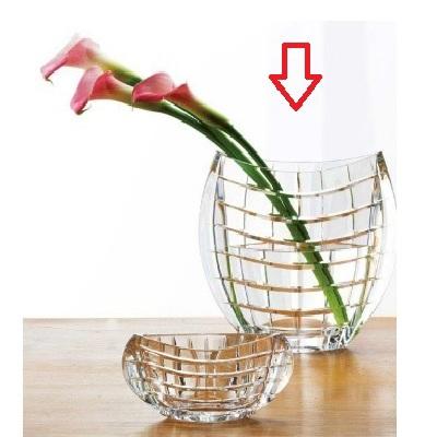 花器 【花器M】 BOHEMIA 高さ230 口径:200-102、最大:235 【業務用】【グループB】