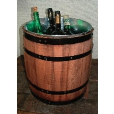 ワインクーラー 【樽型ワインクーラー】 オークバレル樽 高さ350 最大径320 【業務用】【グループH】