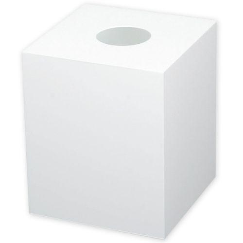 アルファ アクリル抽選箱 (白)/業務用/新品