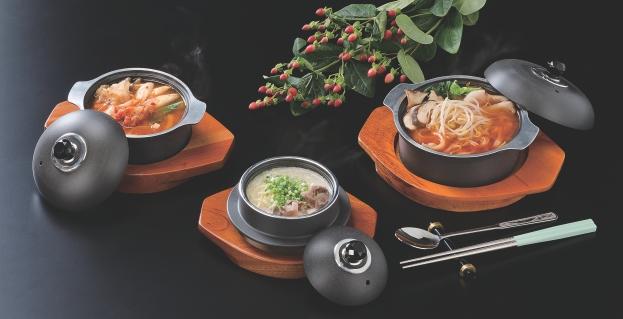 韓国食器 椀  幅160 奥行132 高さ98