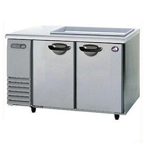 パナソニック(旧サンヨー) サンドイッチ冷蔵庫 2ドア ピラーレス 単相100V SUR-GS1561SA W1500×D600×H812mm 【送料無料】【業務用】