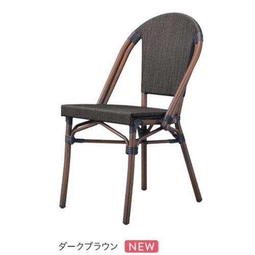 洋風椅子 MORITIUS 2 モリシャス2イス CHERRY(チェリー)  幅470×奥行560×高さ880、座面高さ:440/業務用/新品/送料無料