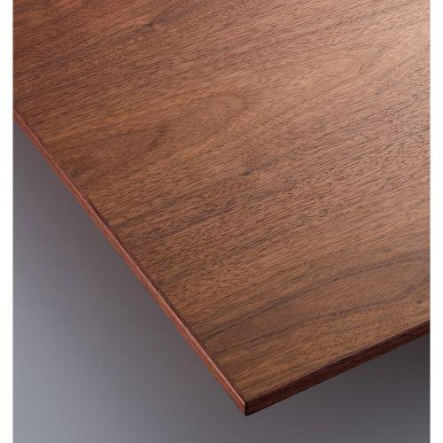 【受注生産品】CHERRY(チェリーレスタリア) テーブル天板 ウォールナット突板·木縁巻き 船底タイプ 幅1800×奥行900mm/業務用/新品/送料無料