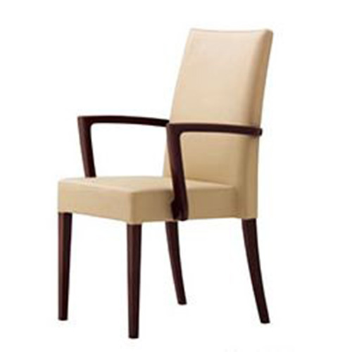 CRES クレス 木製イスメルカ BW 一部予約 ストア 張地ランクA プロ用椅子 送料無料 肘付き 新品 スタッキング仕様