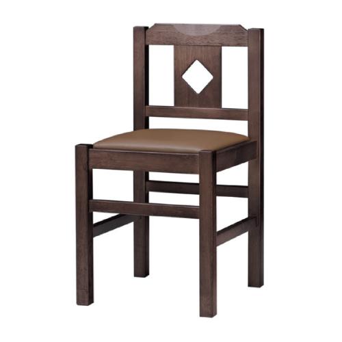 【菱江 D 椅子 Aランク】 木製イス 幅380×奥行400×高さ710(mm)【業務用】【新品】【送料無料】