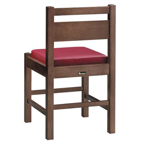 【阿山 D 椅子 Aランク】 木製イス 幅390×奥行400×高さ700(mm)【業務用】【新品】【送料無料】