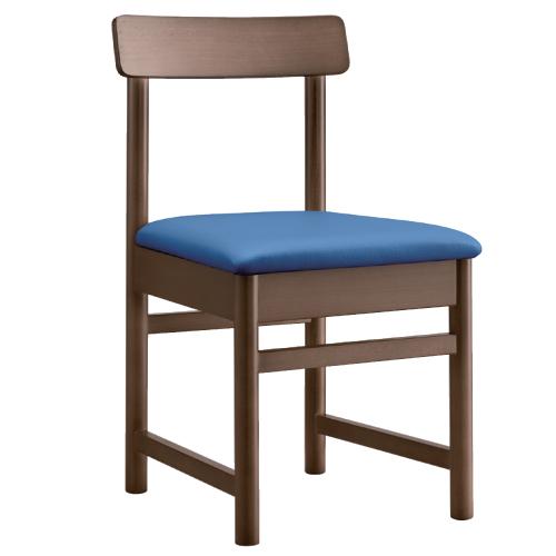 【柚子 D 椅子 Aランク 】 木製イス 幅420×奥行450×高さ750(mm)【業務用】【新品】【送料無料】