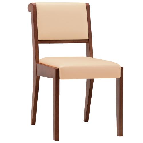 【ニコラ K 椅子 Aランク 】 木製イス 幅420×奥行570×高さ800(mm)【業務用】【新品】【送料無料】
