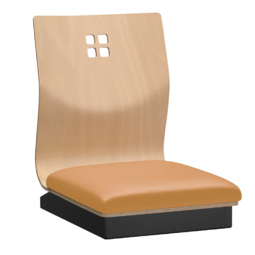 【霧島I N 座椅子 Aランク 】 幅370×奥行530×高さ500(mm)【業務用】【新品】【送料無料】
