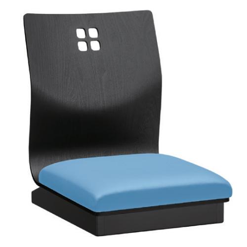 【霧島I B 座椅子 Aランク 】 幅370×奥行530×高さ500(mm)【業務用】【新品】【送料無料】