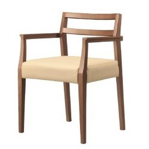 伊豆 スタイリッシュ 伊豆1Dアーム椅子 【Aランク】【業務用】【送料無料】