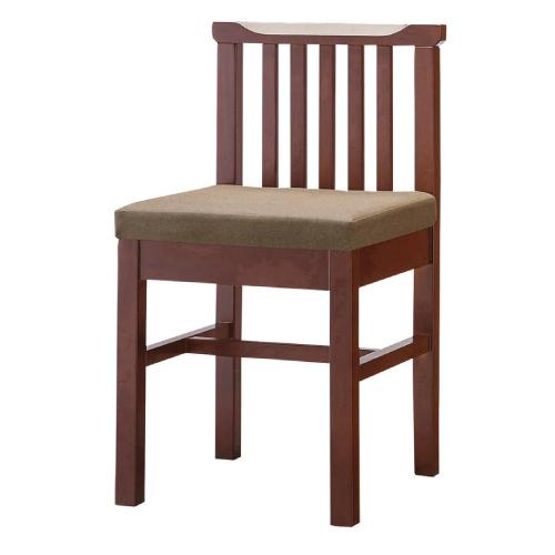 プロシード(丸二金属) 和風椅子 柳イス(茶) 張地ランクA /(業務用椅子/新品)(送料無料)