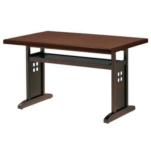 【山笠テーブル(茶)-4 】 プロシード 幅900×奥行600×高さ700(mm)【業務用】【新品】【送料無料】
