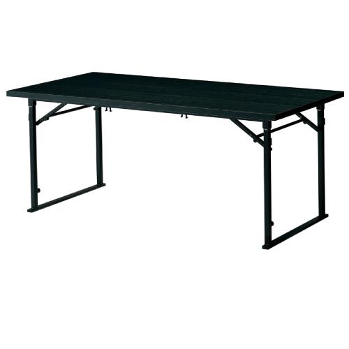 【富士テーブル(黒) 】 プロシード 幅1500×奥行600×高さ620(mm)【業務用】【新品】【送料無料】