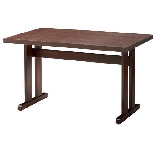 【立花テーブル(茶)-1 】 プロシード 幅1200×奥行750×高さ700(mm)【業務用】【新品】【送料無料】