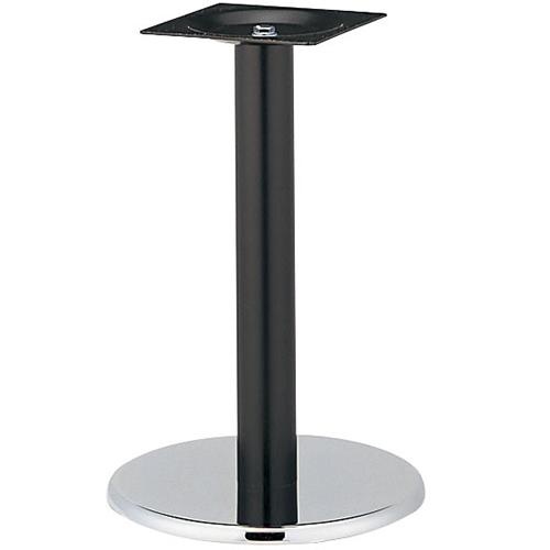 プロシード(丸二金属) テーブル脚 TABLE LEG 丸ベース AT120-B ベース450φ ポール76φ 受座角240(mm) 業務用 送料無料