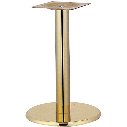 プロシード(丸二金属) テーブル脚 TABLE LEG 丸ベース AT123-A ベース400φ ポール76φ 受座角240(mm) 業務用 送料無料