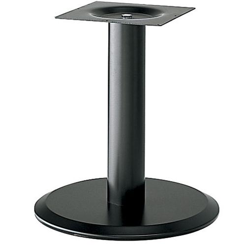 プロシード(丸二金属) テーブル脚 TABLE LEG 丸ベース AT161-A ベース400φ ポール76φ 受座角240(mm) 業務用 送料無料