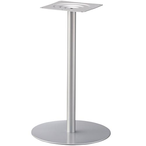 プロシード(丸二金属) テーブル脚 TABLE LEG 丸ベース AT165-C ベース500φ ポール60φ 受座角240(mm) 業務用 送料無料