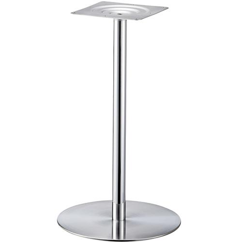 プロシード(丸二金属) テーブル脚 TABLE LEG 丸ベース AT167-C ベース500φ ポール60φ 受座角240(mm) 業務用 送料無料
