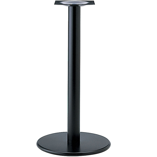 プロシード(丸二金属) テーブル脚 TABLE LEG ハイテーブル用 AT252-B ベース450φ ポール76φ 受座角240(mm) 業務用 送料無料
