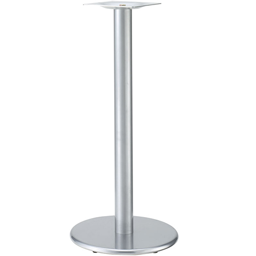 プロシード(丸二金属) テーブル脚 TABLE LEG ハイテーブル用 AT256-C ベース500φ ポール101φ 受座角300(mm) 業務用 送料無料