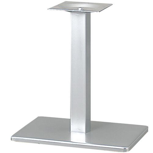 プロシード(丸二金属) テーブル脚 TABLE LEG 角ベース BT300-N ベース角680×450 ポール角100 受座角300 (mm) 業務用 送料無料