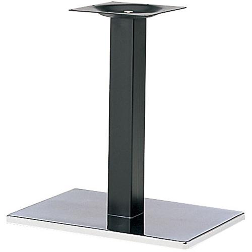 プロシード(丸二金属) テーブル脚 TABLE LEG 角ベース BT302-N ベース角680×450 ポール角100 受座角300 (mm) 業務用 送料無料