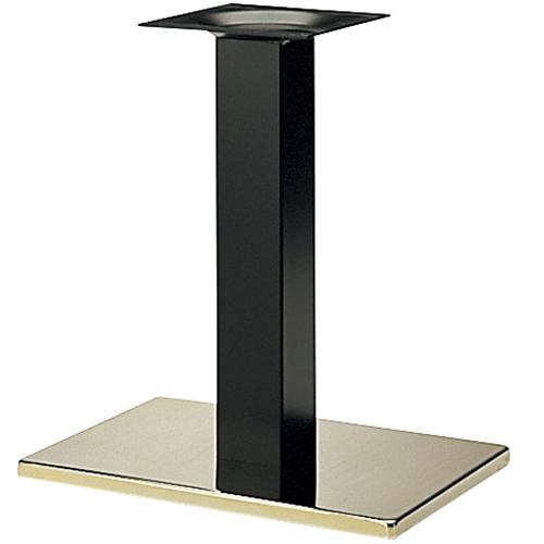 プロシード(丸二金属) テーブル脚 TABLE LEG 角ベース BT303-T ベース角370×370 ポール角75 受座角240(mm) 業務用 送料無料