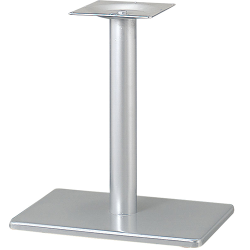 プロシード(丸二金属) テーブル脚 TABLE LEG 角ベース BT304-N ベース角680×450 ポールφ101 受座角300 (mm) 業務用 送料無料