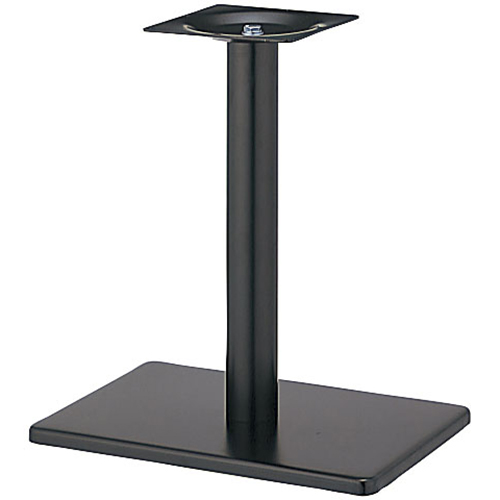 プロシード(丸二金属) テーブル脚 TABLE LEG 角ベース BT305-N ベース角680×450 ポールφ101 受座角300 (mm) 業務用 送料無料